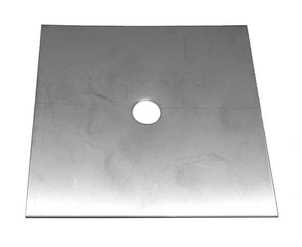 "Scotty Downrigger Part - S-SSCUTSQ4 - SS SQUARE BRAKE PLATE 4"" (S9107)"
