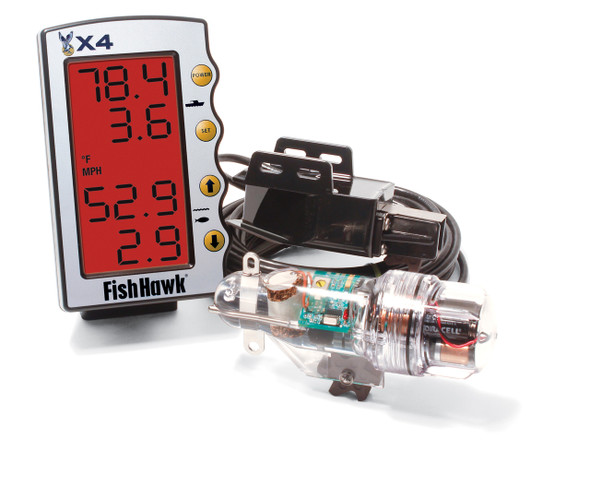 Fish Hawk Speed & Temp System - X4