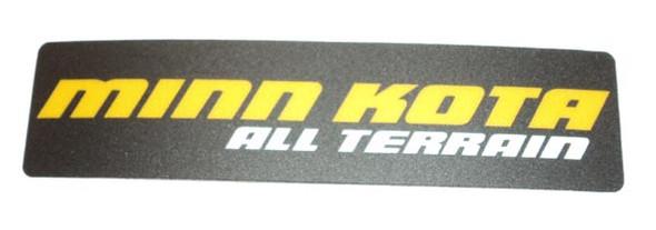 Minn Kota Trolling Motor Part - DECAL-MOTOR REST - 2265631