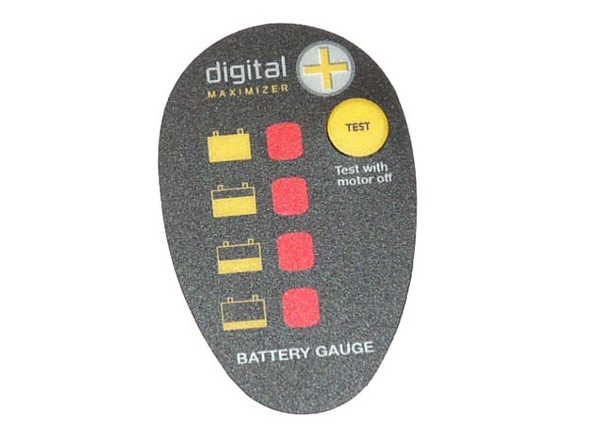 Minn Kota Trolling Motor Part - DECAL-BATTERY METER PD V2 FW - 2316605