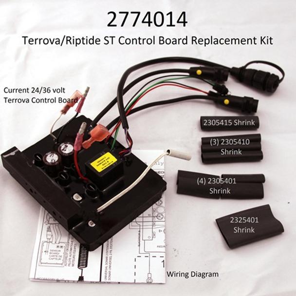 Minn Kota Trolling Motor Part - CONTROL BOARD ASSEMBLY,24/36V TERROVA - 2774014