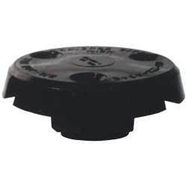 Big Jon Cable Cap (For Two Cables) - Black