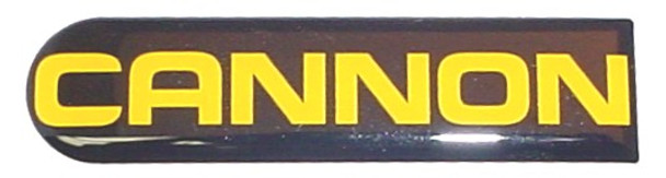 Cannon Downrigger Part 3395631 - DECAL CANNON SMALL