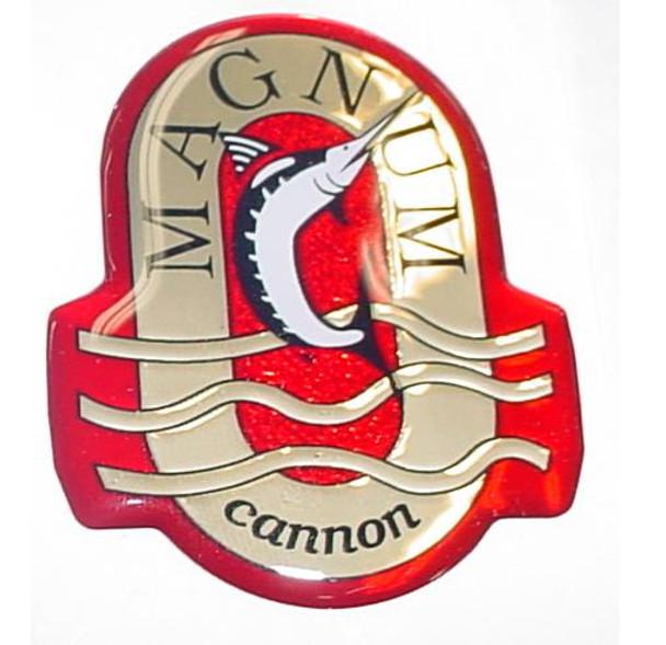 Cannon Downrigger Part 4427005 - DECAL EMBLEM NOSE MAGNUM