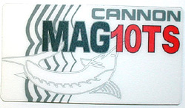 Cannon Downrigger Part 3395609 - DECAL-LARGE MAG 10 TS