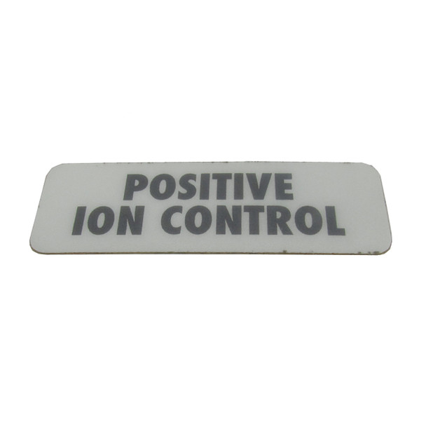 Cannon Downrigger Part 3395700 - DECAL - POSITIVE ION CONTROL (3395700)