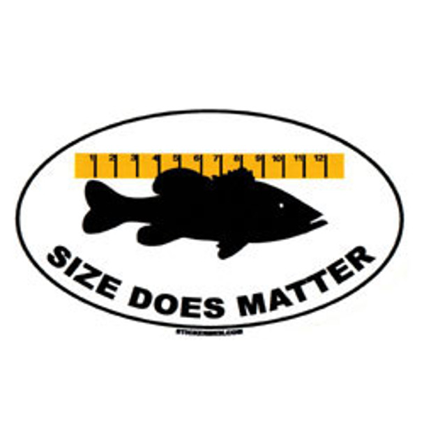 Decal - Size Does Matter