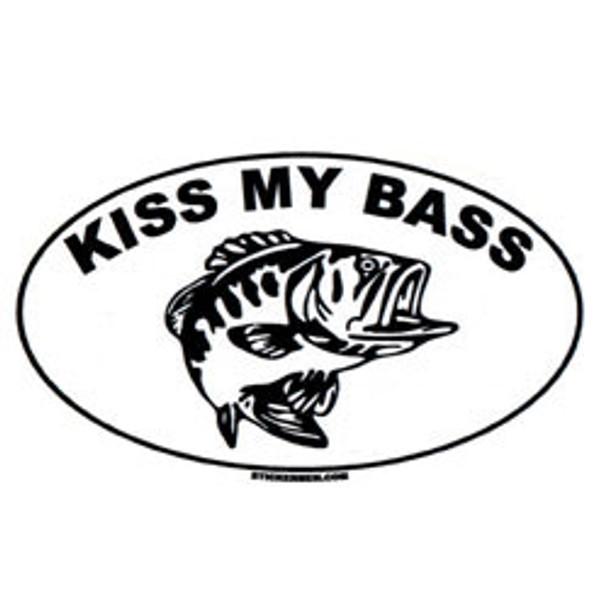 Decal - Kiss My Bass