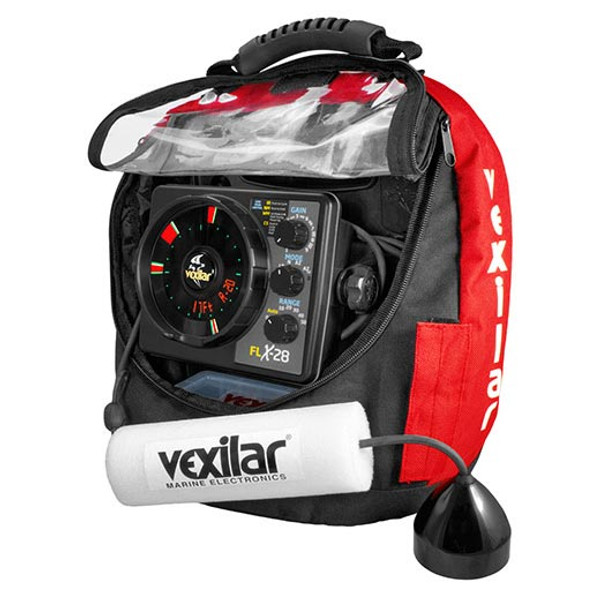 Vexilar FLX-28 Pro Pack II with ProView Ice-Ducer