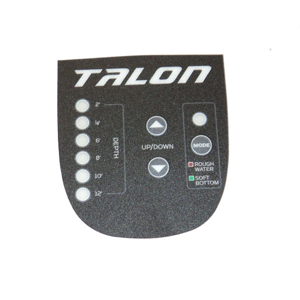 Minn Kota Trolling Motor Part - DECAL, BEZEL PANEL, BLACK 12' - 2375739