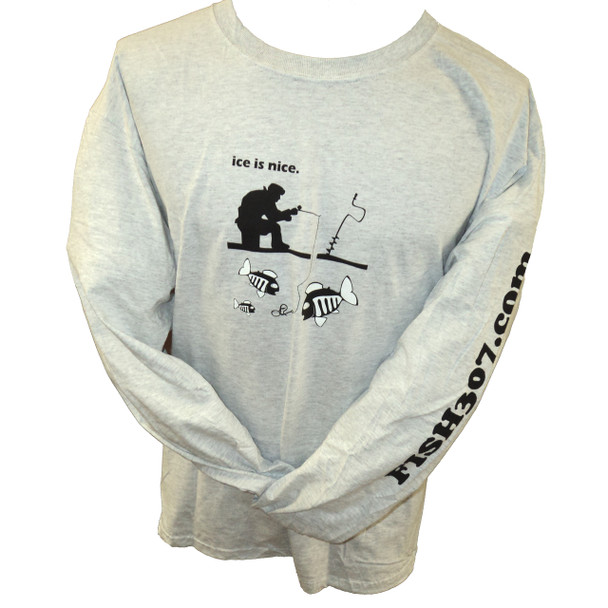 FISH307.com Ice is Nice Long Sleeve Cotton T-Shirts - 2014/15