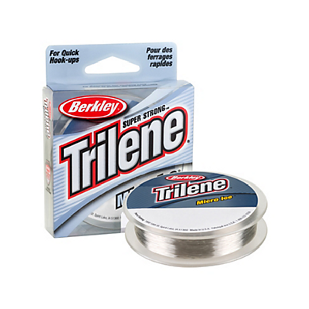 Berkley Trilene® Micro Ice® Fishing Line - 110 Yard - Clear Steel