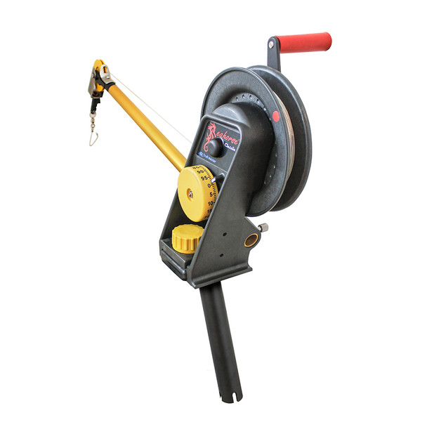Troll-Master Seahorse® Manual Downrigger System with Gimbal Mount