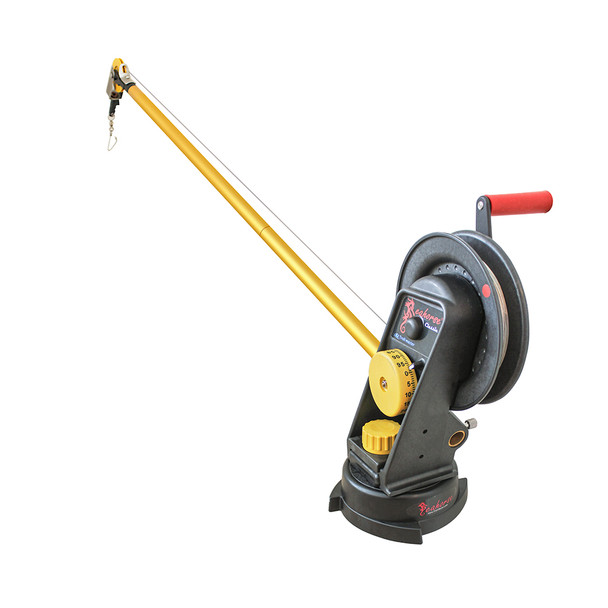 Troll-Master Seahorse® Manual Downrigger System with Boom Extension and Swivel Base