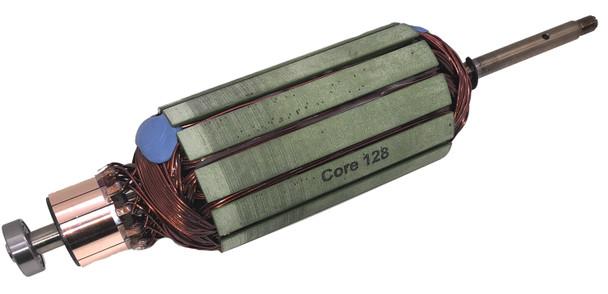"Minn Kota Trolling Motor Part – 92-100-128 – ARMATURE ASM 24V 3.62"",70# KT 70# LOWER UNIT REDESIGN"