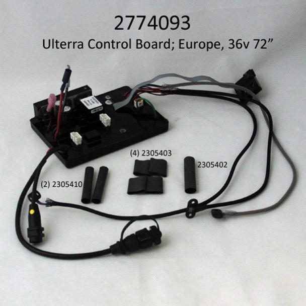 "Minn Kota Trolling Motor Part – 2774093 – MAIN CONTROL BRD,EUR, 36V, 72"" ULTERRA SERVICE"