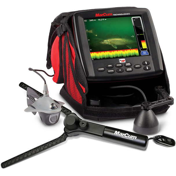 "MarCum LX-9 Digital Sonar\/Camera System - 8"" LCD Dual Beam w\/OSD Camera"