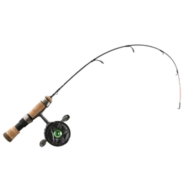 """13 Fishing - LH Snitch/Descent Inline Ice Combo 25"""" with Quick Tip"""