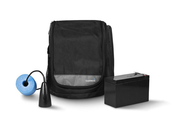 Garmin Small Portable Ice Fishing Kit With GT8HW-IF