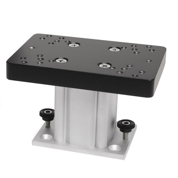 "Cannon Aluminum Fixed Base Downrigger Pedestal - 4"" - 33695"