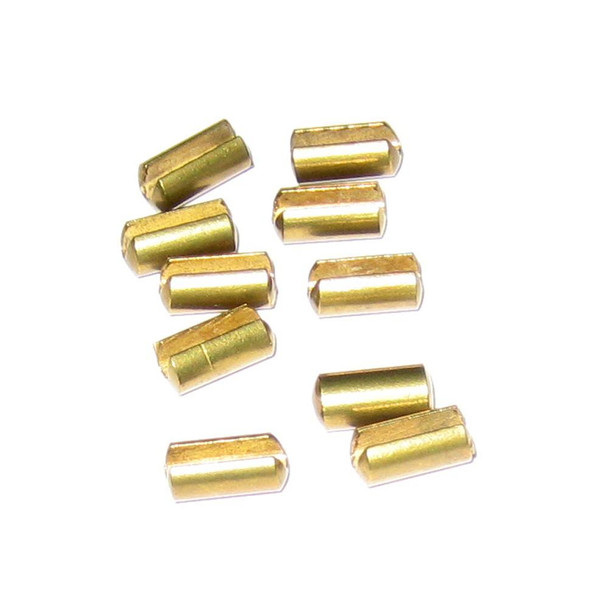 Scotty Release Clip Locators Slotted Brass - 10 Pack - 57580