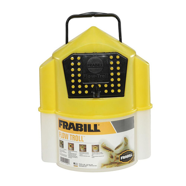 Frabill Flow Troll Bucket - 6 Quart - 71498