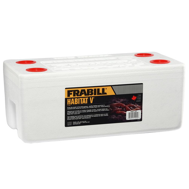 Frabill Habitat V Worm Long Term Storage System - 71523