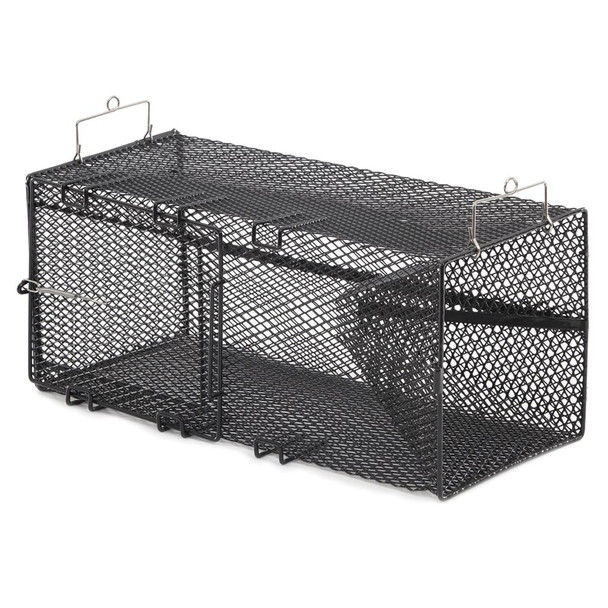 "Frabill Black Pinfish Rectangular Trap - 18"" x 12"" x 8"" - 71561"