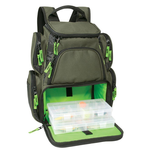 Wild River Multi-Tackle Small Backpack w/2 Trays - 55796