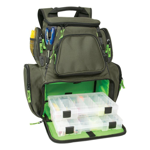 Wild River Multi-Tackle Large Backpack w/2 Trays - 55798