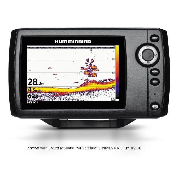 """Humminbird HELIX5 Sonar 5"""""""" Wvga Color Fishfinder G2"""