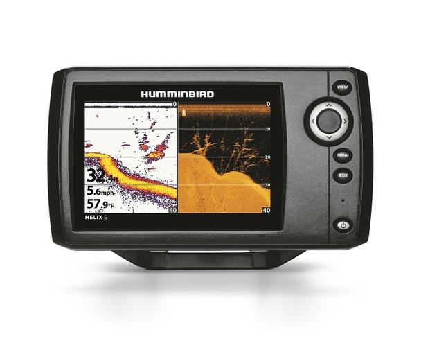 "Humminbird HELIX5 DI 5"""" WVGA Color Fishfinder G2"