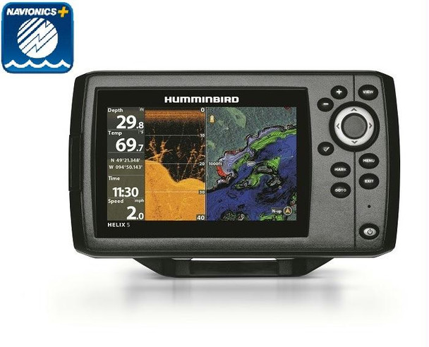 Humminbird HELIX5 Chirp DI G2 Navionics Plus Bundle