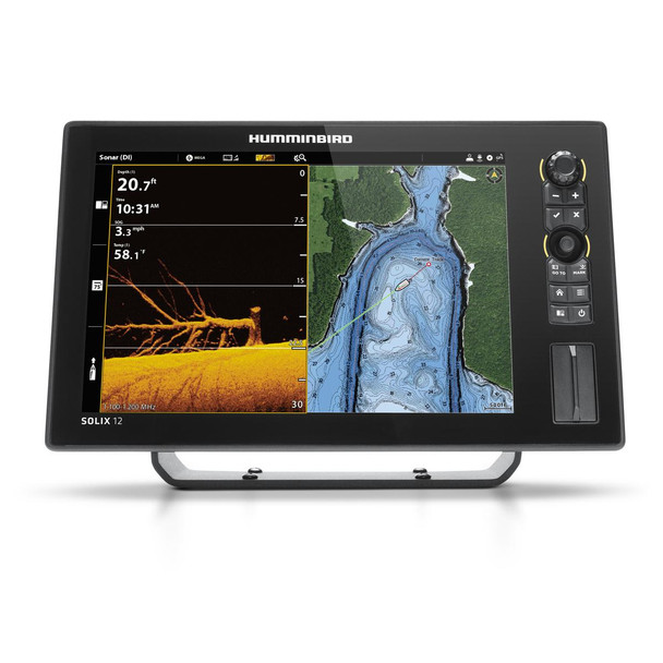 Humminbird SOLIX12 DS/MDI GPS G2 No Transducer