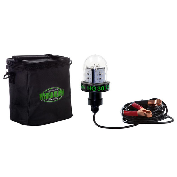 Hydro Glow HG30 30W/12V Deep Water LED Fish Light - Green Globe Style
