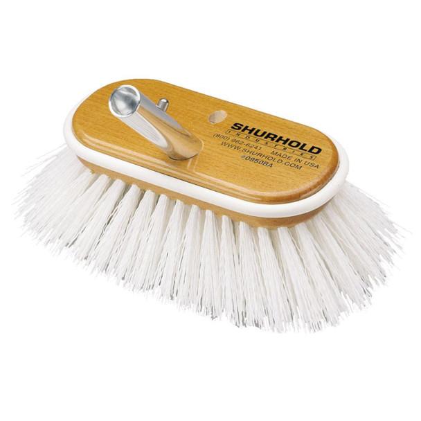 "Shurhold 6"" Polypropylene Stiff Bristle Deck Brush - 32921"