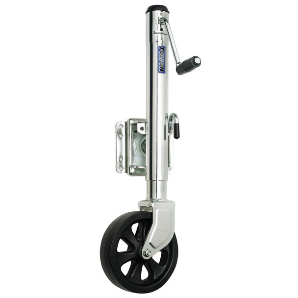 Fulton Single Wheel 1,500 lbs. Bolt-Thru Swivel Jack - 34915