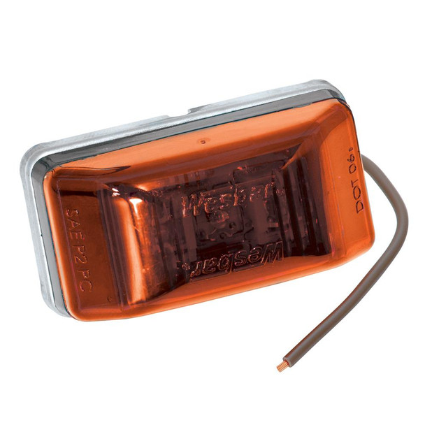 Wesbar LED Clearance-Side Marker Light #99 Series - Amber - 34998