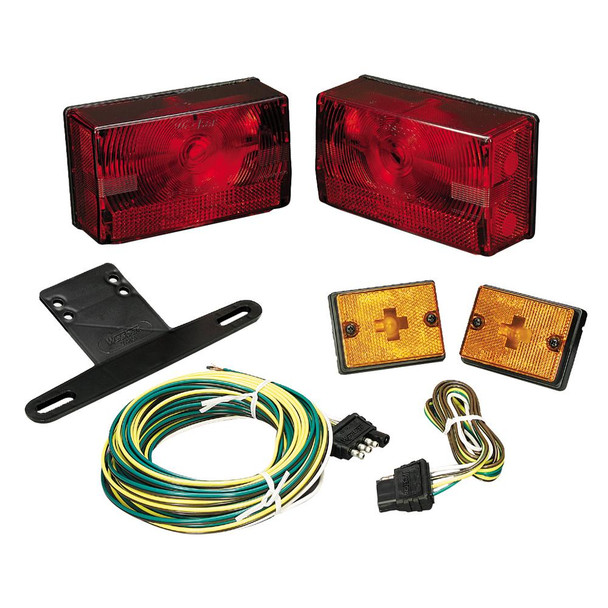 """Wesbar Submersible Over 80"""" Taillight Kit w/Sidemarkers - 37033"""