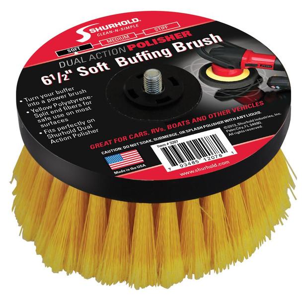 "Shurhold 6-"" Soft Brush f/Dual Action Polisher"