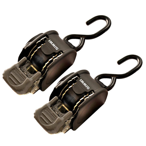 """BoatBuckle Retractable Transom Tie-Down System - 1"""" x 72"""" - 66365"""