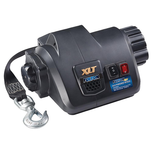 Fulton XLT 10.0 Powered Marine Winch w/Remote f/Boats up to 26'