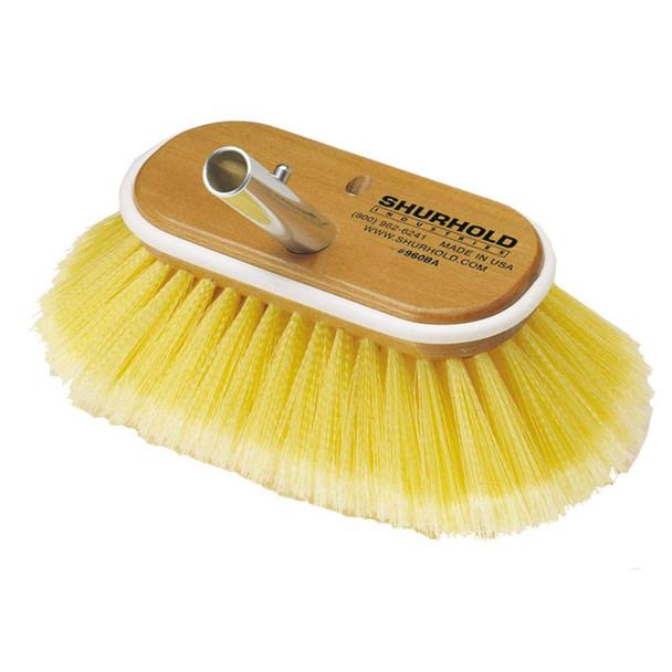 "Shurhold 6"" Polystyrene Soft Bristles Deck Brush"