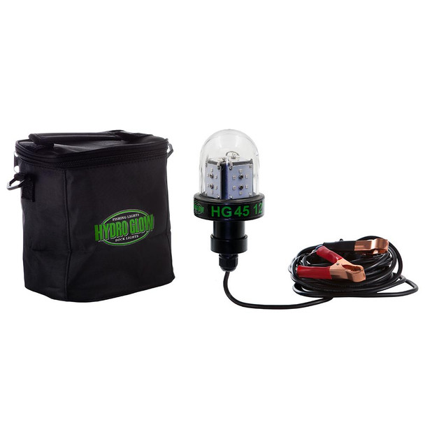 Hydro Glow HG45 45W/12V Deep Water LED Fish Light - Green Globe Style