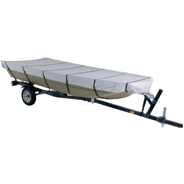 "Dallas Manufacturing Co. 300D Jon Boat Cover - Model C - Fits 16' w/Beam Width to 75"" - 45155"