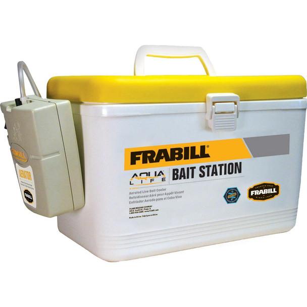 Frabill Bait Box w/Aerator - 8 Quart