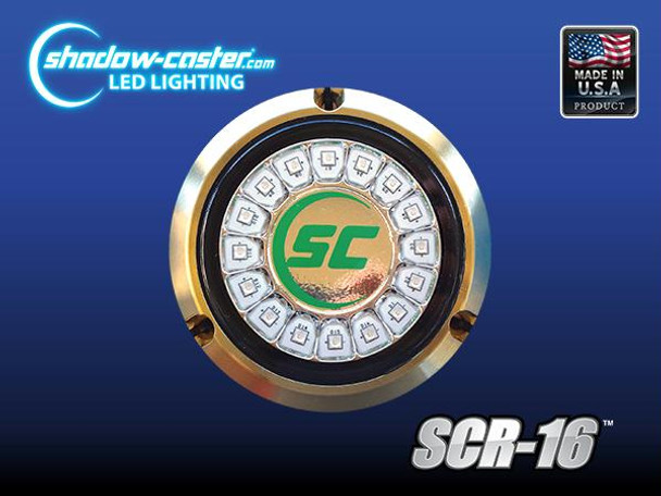 Shadow Caster Scr16 Underwater Led Light Ultra Blue