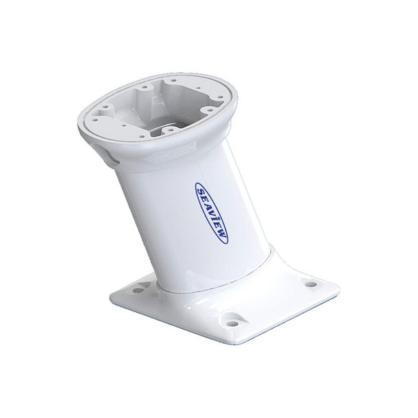 """Seaview 10"""" Modular Mount AFT Raked 7 x 7 Base Plate - Top Plate Required"""