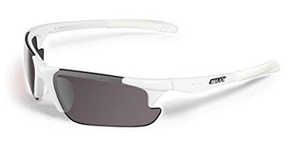 Maxx Sunglasses TR90 Maxx Storm White Polarized Smoke Lens