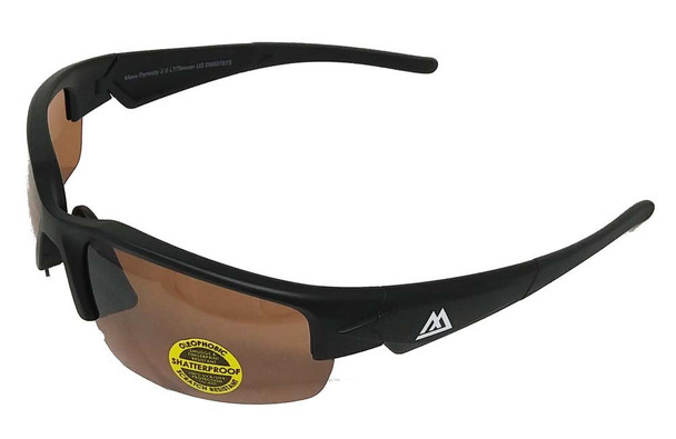 Maxx M-line DYNASTY 2.0 Black, Amber HD Polarized lens
